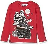 LEGO Star Wars Jungen T-Shirt 167278 Rot Rouge, 8 Jahre