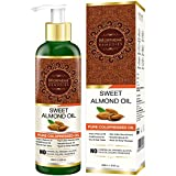 #7: Morpheme Remedies Pure ColdPressed Sweet Almond Oil for Hair & Skin (No Mineral Oil & Sulphate), 200ml