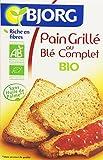 Bjorg Pain Grillé au Blé Complet Bio 250 g - Lot de 6