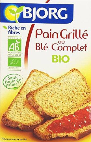 Bjorg Pain grillé à la farine de blé complet 12 tranches 250 g