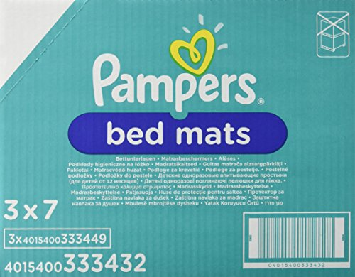 pampers-bed-mats-aleses-protege-lit-lot-de-3-x-21-aleses