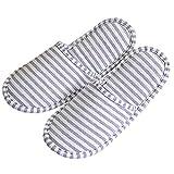 THEE Zapatillas Plegable de Casa Zapatillas Portátil de Viaje
