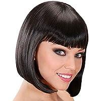 Mondial-fete - Perruque charleston noire