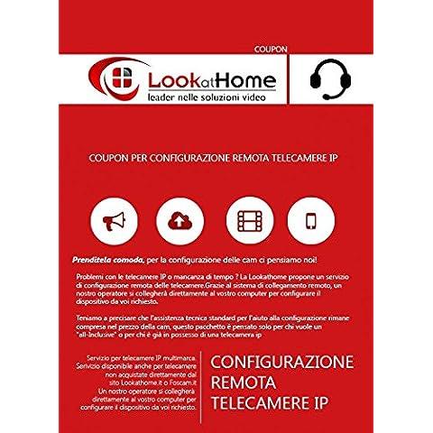 Coupon per Servizio configurazione Telecamere IP da remoto