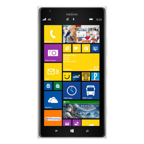Nokia Lumia 1520Smartphone 4G, entsperrt, Display 15,24cm (6Zoll), 32GB Windows Phone (Entsperrt Handys Lumia Nokia)