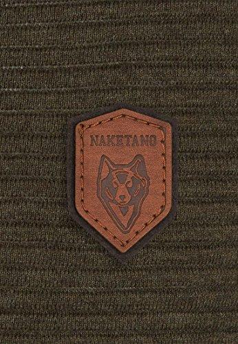 Naketano Male Knit Zapzarap Zip Zap Olive Melange