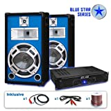PA Set Blue Star Series Starter 1200 Watt Anlage