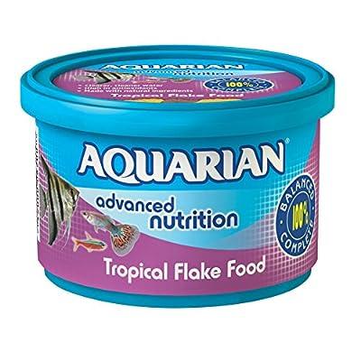 API AQUARIAN Complete Nutrition, Aquarium Tropical Fish Food Flakes, 50g Container