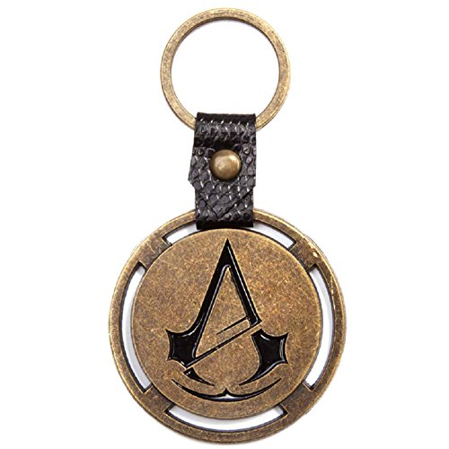 Assassins Creed Unity Keyring Keychain Logo PS4 Xbox Official Metal One Size