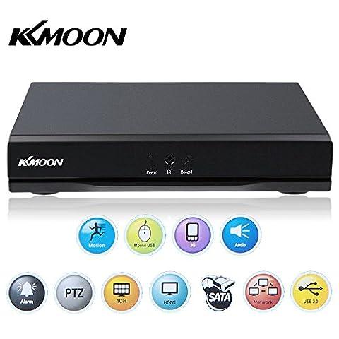 KKmoon 4CH DVR HDMI H.264 CCTV Enregistreur Vidéo Numérique Digital