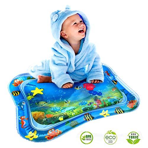 StillCool Kinder Spielzeug Aufblasbare Wassermatte Wasser Spielmatte Bauchzeit Bildungsspielzeug