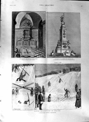 1888 Houe de Plymouth de Cathdrale de la Finlande Frere Paul de Sports