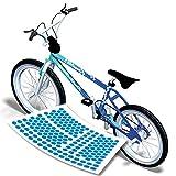 style4Bike Retro Fahrrad Aufkleber Cubes Eis Sticker für Das Fahrrad in Vielen Farben|S4B0115