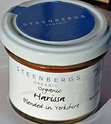 Organic Harissa Powder Standard Jar - 52g by Steenbergs