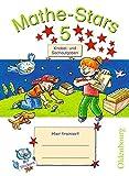 Mathe-Stars - Knobel- und Sachaufgaben: 5. Schuljahr - Übungsheft: Mit Lösungen