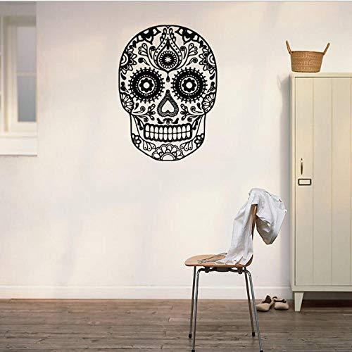 Halloween schädel wandaufkleber wohnzimmer schlafzimmer hintergrund dekoration aufkleber 57 * 42 cm