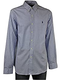 b04e9bca56 Amazon.it: camicia uomo ralph lauren - A quadri: Abbigliamento