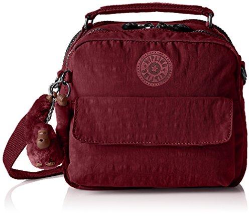 Kipling K04472 Damen Henkeltaschen 22x19x11.5 cm (B x H x T), Rot (A12 Crimson) (Kipling One-shoulder-bag)