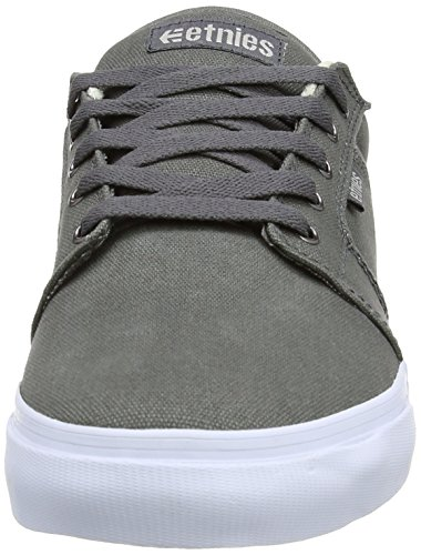 Solaria Publications - Barge LS Canvas, Scarpe Da Skateboard da Uomo Grey