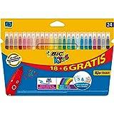 BIC Kids Kid Couleur Feutres de Coloriage - Etui Carton de...