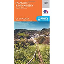 Falmouth and Mevagissey, Truro and St Mawes 1 : 25 000 (OS Explorer Map)