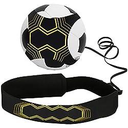 Football Trainer Banda, Infreecs Star Kick Trainer - Banda elástica para entrenamiento de fútbol