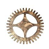 Gankmachine Industrial Industria Rueda de Engranaje de la Puerta de Madera colgados de la Pared Decorativo Cog Casa Comprar Art Crafts Ornamento