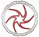 MTB Freni a Disco Rotori, MountainBikeColoratoRotoriMTBAcciaioDiscoFreno 160mm Rosso