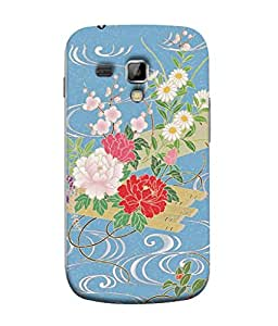 PrintVisa Designer Back Case Cover for Samsung Galaxy S Duos S7562 (Animated flowers design :: Painting design :: Multi flowers design :: Beautiful flower design :: Floral design)