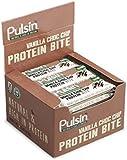 Pulsin' 25g Mini Vanilla Choc Chip Protein Snack - Pack of 18