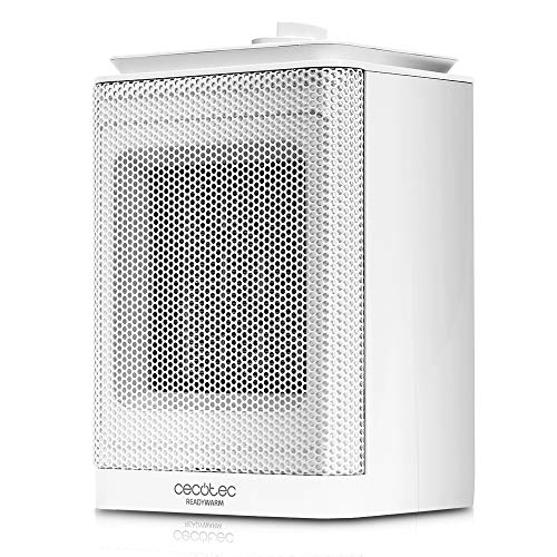 Cecotec Calefactor Cerámico Ready Warm 6150 Ceramic Rotate Style. 3 Modos, Termostato Regulable, Sistema...