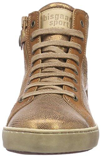 Bisgaard 31807215, Sneakers Hautes fille Marron (68 Whiskey)