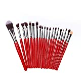 pitashe Make up Pinsel Set 20pcs Professionelle Makeup Pinsel Set Foundation Puderpinsel Schminkpinsel Kosmetikpinsel Lidschatten Gesichtspinsel Eyeliner Make up Brushes Set Mascara-Pinsel