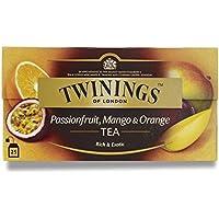 Twinings Frutto Della Passione, Mango E Tè Arancione (Blend Internazionale) 50G - 25 Buste (Confezione da 6)