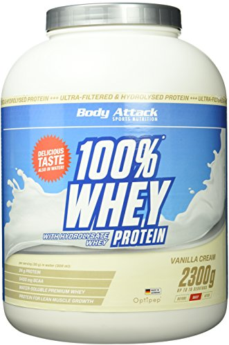 Body Attack 100% Whey Protein (2300g)
