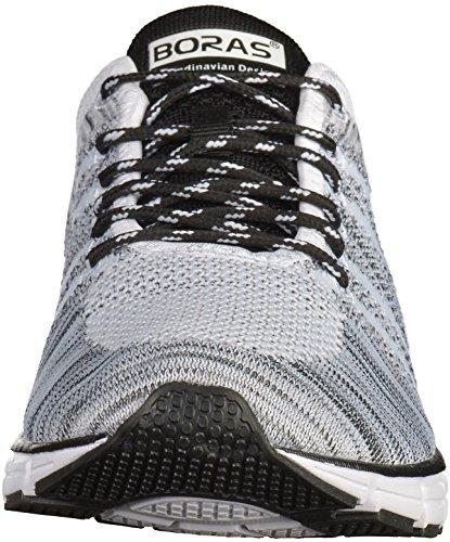 Boras 5200 mixte adulte Baskets blanc / noir