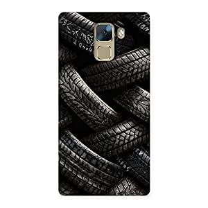 Special Knot Tyre Back Case Cover for Huawei Honor 7