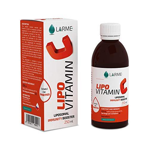 LIPOVITAMIN C® Liposomales/Lypospheric Vitamin C   Hochdosiert 1450mg - Flüssiges Liposomal mit Bioflavonoide und Vitamin E   Vegan   Magenfreundlich und Maximale Bioverfügbarkeit - 100{9eaa4ceb10375ad79ff78bfc770168ae710f31505149140e7101302057391c0a} ohne GMO