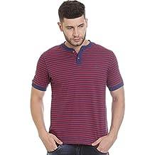 Vudu Men's Casual Red Color T-Shirt-11