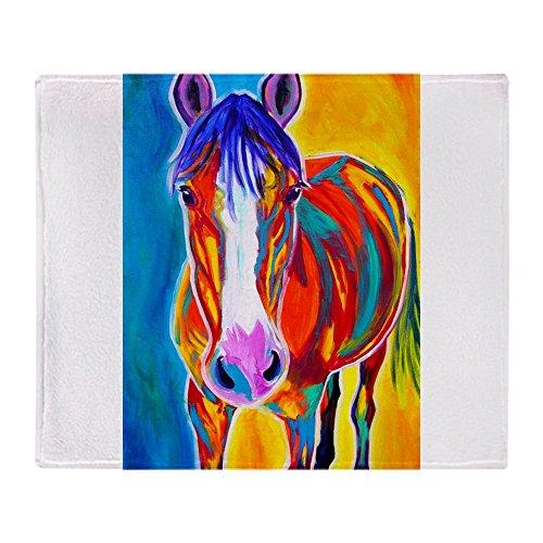 CafePress Pferdedecke #13 50x60 weiß