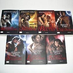 Immortals After Dark 1-7 (Nacht des Begehrens - Kuss der Finsternis - Versuchung des Blutes - Tanz des Verlangens - Verführung der Schatten - Zauber der Leidenschaft - Eiskalte Berührung)
