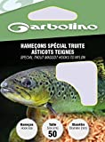 Garbolino HAMECON Monte Special Truite ASTICOTS TEIGNES - par 10-10, 16/100, N°10, 50