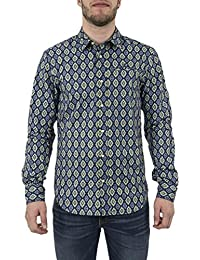 chemise scotch and soda 136326 bleu