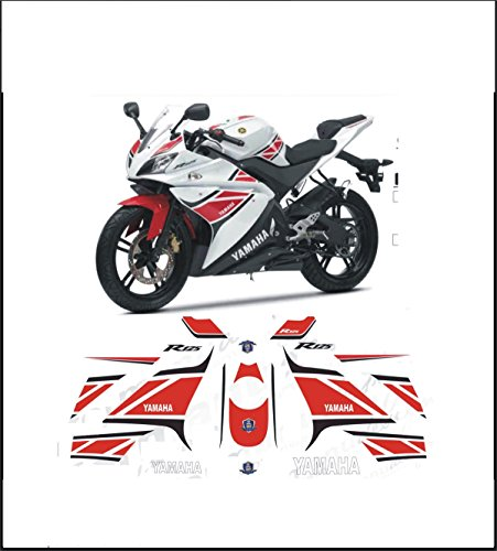 Kit adesivi Decal Stickers Yamaha R125 – YZF miniatura 50 Anniversary (Ability to Customize The colors)