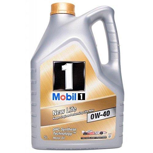 Mobil 1 New Life 0W-40 Motoröl, 5L