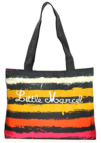 Little Marcel , Zaino Casual  multicolore multicolore 40.0 (L) x 33.0 (H) x 9.0 (E) cm