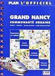 Plan de ville : Plan officiel de Nancy