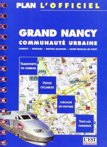 Plan de ville : Plan officiel de Nancy par Plans Dernières Nouvelles d'Alsace