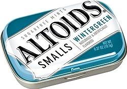 Altoids Small Wintergreen Sugar free Mints 10.5 Grams