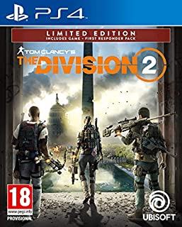 Tom Clancy's The Division 2 Limited Amazon Edition (Exclusive to Amazon.co.uk) (PS4) (B07MKPML4M) | Amazon Products